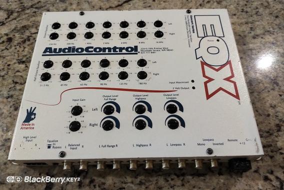 Audiocontrol Eqx Eql Eqs Equalizador Parametrico Dsp Zxcvbn
