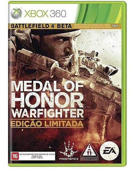 Medal Of Honor Warfighter Edição Limitada Original Xbox 360