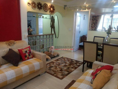 Lindo Apartamento 3 Dor, 73mts Ao Lado Do Shopping Interlagos - Ap2773