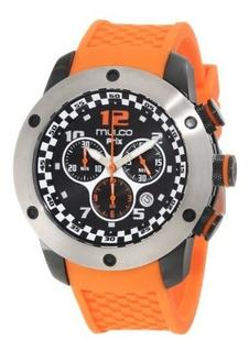 Mulco Unisex Mw2-6313-085 Prix Chronograph Reloj Suizo Movim