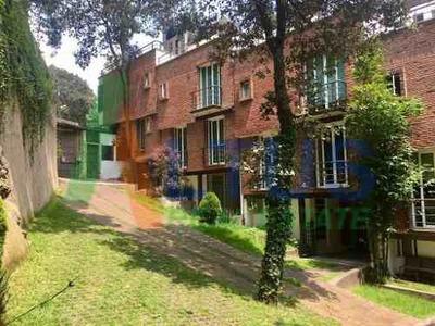 Casa En Renta En Condominio, Héroes De Padierna, Tlalpan