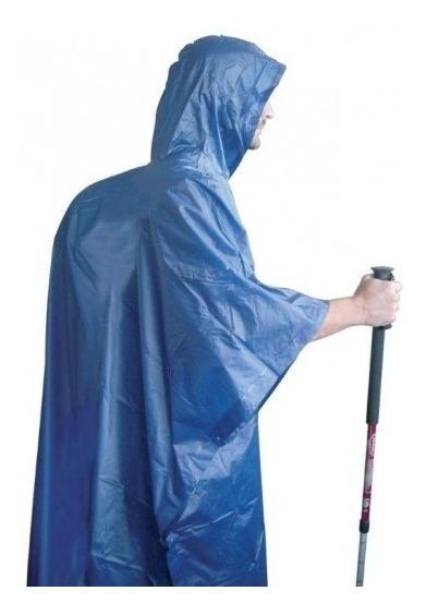 Poncho De Lluvia Emergencia Azul Gaucho Gau11720az