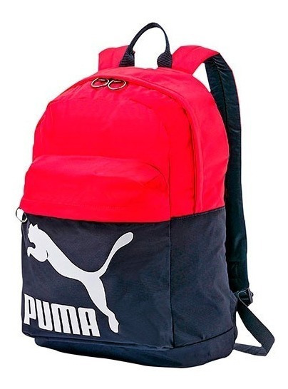 Mochila Puma Originals Backpack 074799-16 Marino-r Unisx Pv