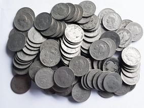 Ch C / Argentina Lote X 100 Niqueles 20 Centavos