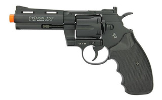 Revólver De Airsoft Co2 Colt Python 357 4 Full Metal 6,0mm