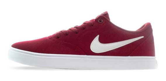 Tenis Nike Sb Check Solar - 843896602 - Rojo - Hombre