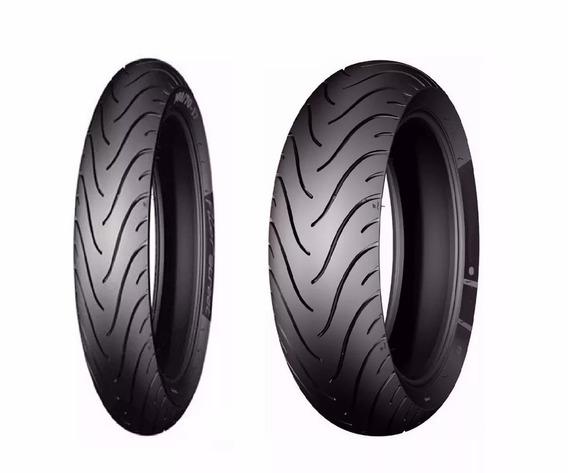 Par Pneus Michelin Fazer 250 110/70-17 E 130/70-17