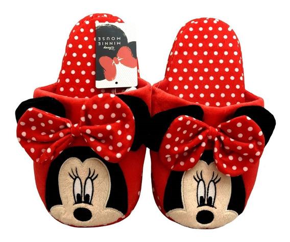 Pantufa Chinelo Infantil Minnie Mouse Disney Tamanho 28/29