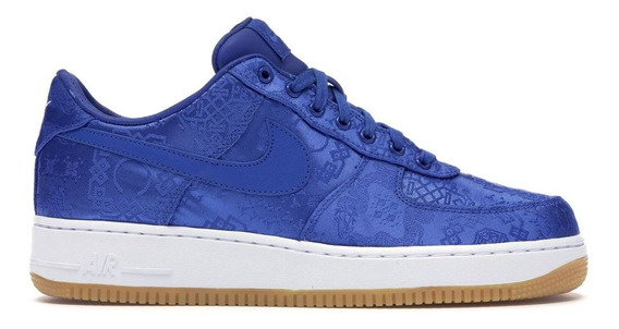 Nike Air Force 1 Premium Clot Azul Hype Off-white Yeezy