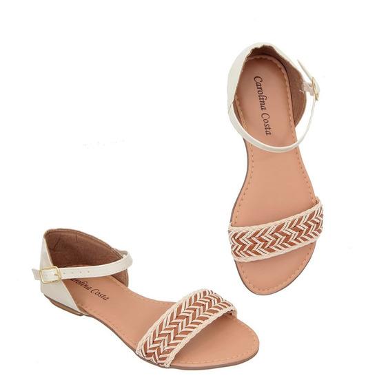 Sandálias, Rasteirinha, Chinelos, Calçados Carolina Costa