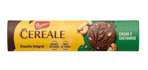 Imagem 1 de 1 de Biscoito Cereale Cacau E Castanhas Bauducco 170g
