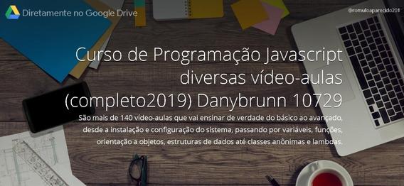 Curso De Programação Em Javascript (.2019) Danybrunn 10729