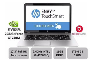 Hp Envy Touchsmart 17.3 Gaming Laptop Fhd- Nvidia- I7