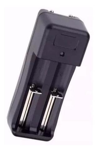 Carregador Duplo Universal Bateria 18650 14500 16340 Cr123a