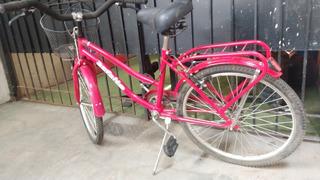 Bicicleta Playera Rodado 24, Niña
