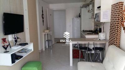 Apartamento Com 1 Quarto À Venda, 47 M², Móveis Projetados, Landscape Beira Mar - Meireles - Fortaleza/ce - Ap0881