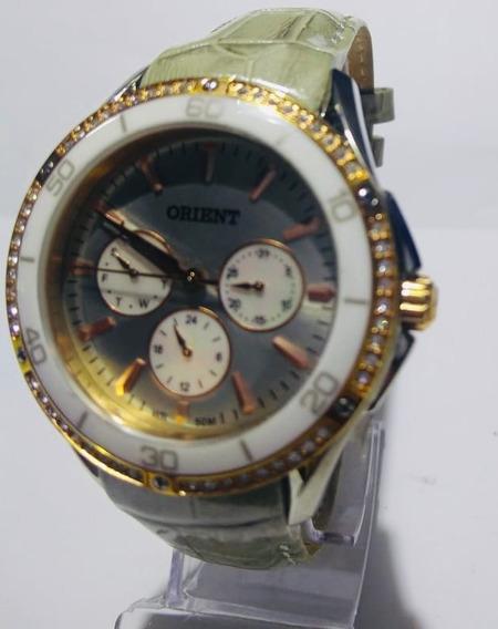 Relógio Orient Feminino Ftscm008 Original