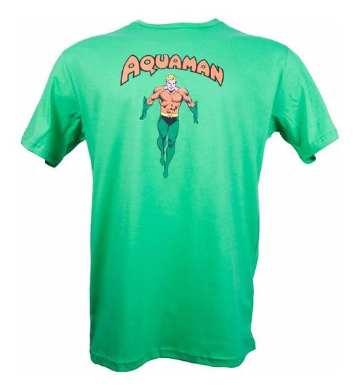 Remera, Dc, Aquaman. Ovni Press, Original, Licencia Oficial