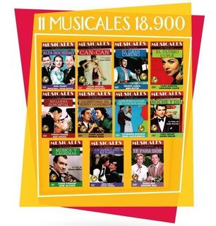 Coleccion De Musicales Dvd (11 Discos)