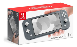Consola Nintendo Switch Lite Gris Nueva + Carcasa + Mica