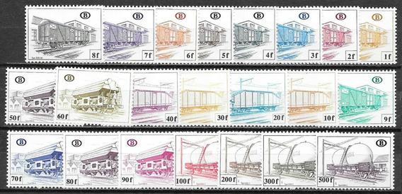 1980 Trenes - Vagones - Belgica Mnh