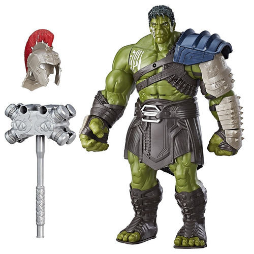 Hulk Interactivo Ragnarok Gladiador H=40cm Original Hasbro