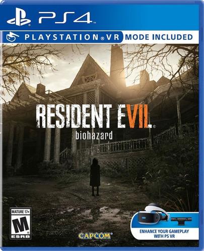 Resident Evil 7 Biohazard Ps4 Fisico Original !