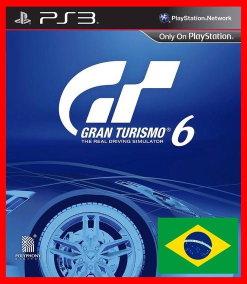 Gran Turismo 6 Ps3 Codigo Psn Portugues Br