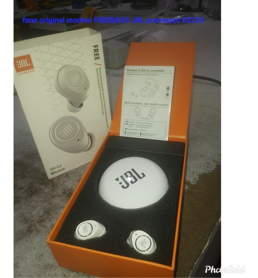 Fone Jbl Free Stricker Charger