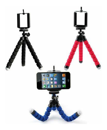 Mini Tripé Flexível P/ Celulares iPhone  Sansumg E Câmeras