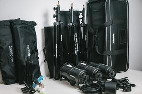 Kit Bag Profoto De Flash Para Estudio 2xd1 500w E 1xd1 1000w