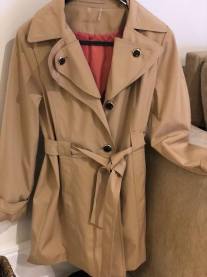 Sobretudo Novo / Trend Coat Calvin Klein Tamanho G / L