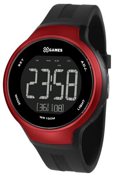 Relógio X-games Masculino Digital Xmppd552 Pxpx Vermelho