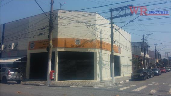 Salão Comercial Para Locação, Centro, São Bernardo Do Campo. - Sl0011