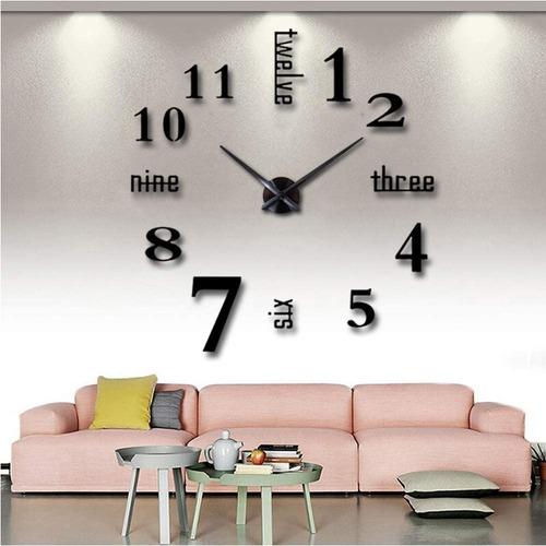 Reloj Diy Para Decoración De Pared