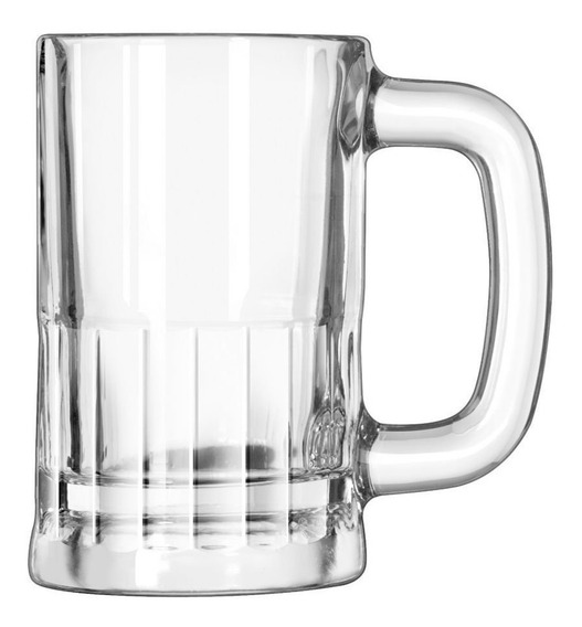 Caneca De Chopp 355ml Vidro Libbey Steakhouse