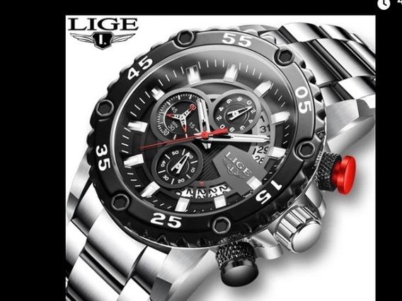Relógio Lige10027 Original A Prova Dágua