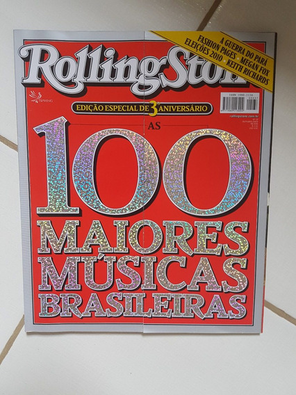 Rolling Stone Edição 100 Maiores Músicas Brasileiras!