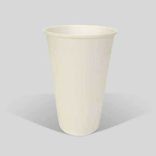 Vaso Blanco 16oz. Biodegradable Reyma®  Base Fecula De Maiz