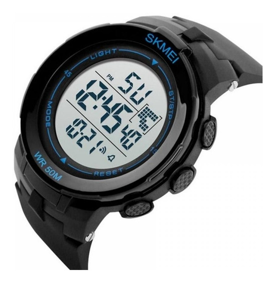 Relógio Masculino Skmei 1127 Digital Preto - Nf E Garantia