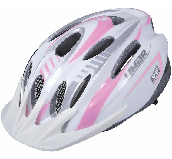 Casco Para Bicicleta Mtb Limar 540 Rosa Plata M