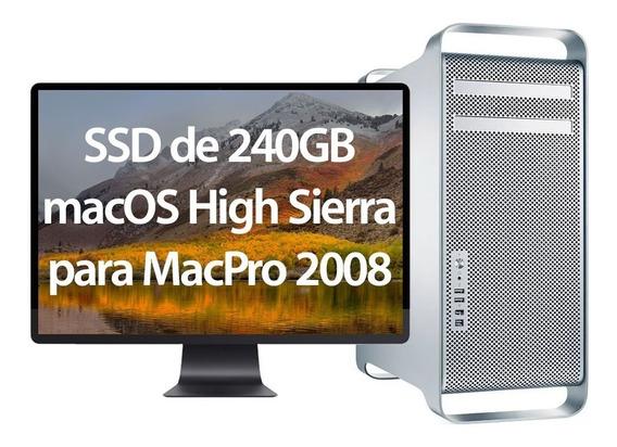 Ssd 240gb Com High Sierra Para Macpro 2008