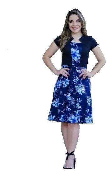 Vestido Evangelico Barato Rodado Gode Roupas Femininas