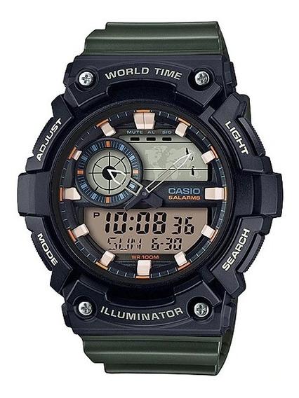 Reloj Casio Aeq-200w-3av