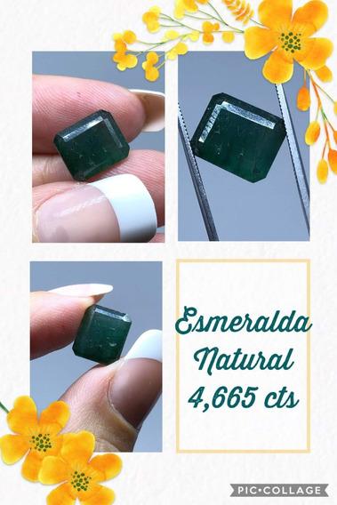 Esmeralda 4 665 Cts Retangular Natural 11x9 Mm Inclusão