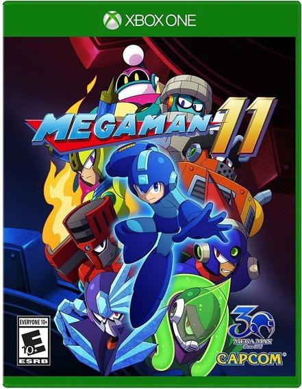 Jogo Mega Man 11 Xbox One Midia Fisica Nacional Lacrado