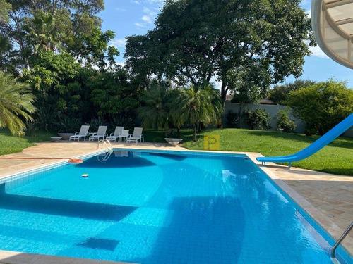 Casa Com 3 Dormitórios À Venda, 501 M² Por R$ 3.900.000 - Portal Dos Nobres - Americana/sp - Ca1016