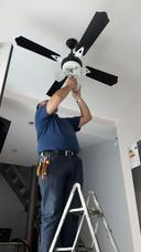 Instalacion Colocacion De Ventiladores De Techo Lu-ce´s