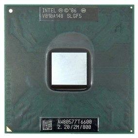 Processador Intel T6600 Core 2 Duo 2.20/2m/800
