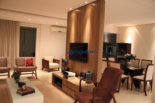 Apartamento À Venda, 234 M² Por R$ 1.900.000,00 - Gleba Palhano - Londrina/pr - Ap0385